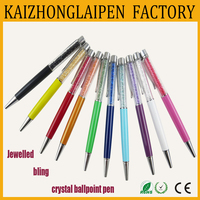 High quality pen with jewelled bling crystal pen