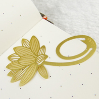 2014 Custom Gold Metal Korean Bookmark