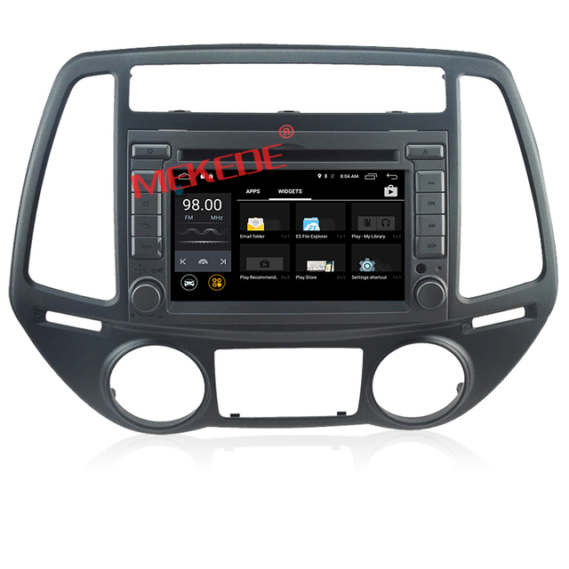Manufacturer customized android car dvd player quad core 2G RAM special for Hyundai I20 cassette radio
