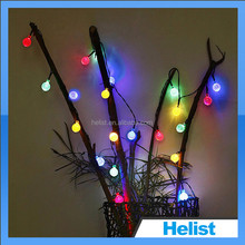 Multicolor holiday decoration solar led wireless christmas tree lights