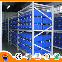4 tiers middle duty warehouse racking