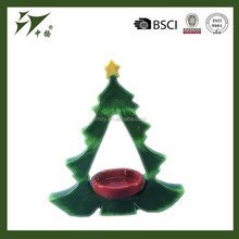 popular new design tree shape Candle holder for christmas ornament