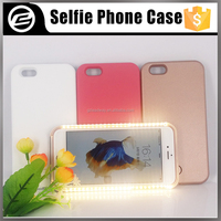 Factory Price Wholesale LED light up LED Illuminated light Selfie Cell Phone Case For iPhone 6