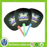 promotional gift 3d lenticular printed plastic hand fan with cartoon picture