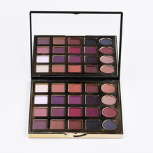 Full 25 Color professional naked make up eye shadow aluminum palette pans