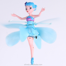Hot sale elsa princess flying fairy induction remote control floating small fairy flying toys With USB cable