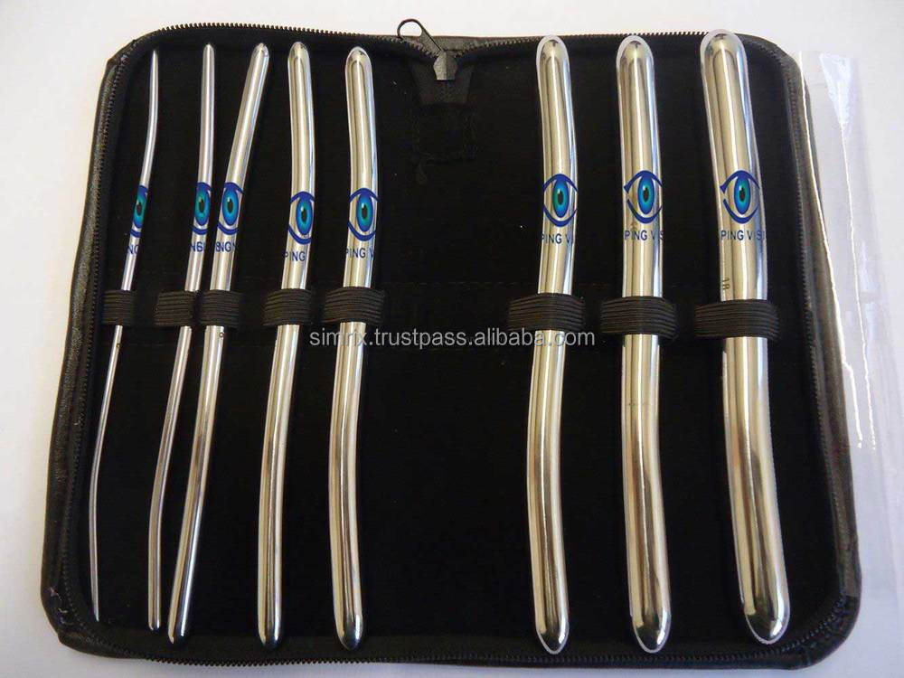 Urethral Hegar Dilator Sounds Surgical Gyne Instruments 8 Pcs Set Ce Mark , Instruments Sets, Simrix