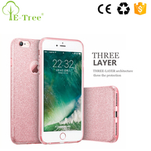 Glitter Hybrid TPU + PC Case For Apple iPhone 7, For iPhone 7 Case