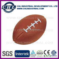 Factory custom American football stress ball