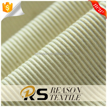 Shaoxing factory direct sale 100 cotton 1x1 rib knitted fabric garment