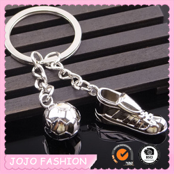 New arrival sneakers football key chain