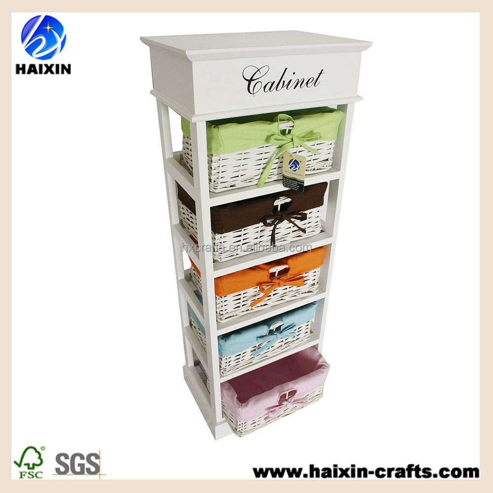 wood , paulownia and willow material and modern appearance wooden cabinet