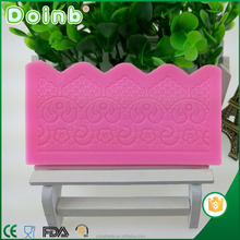 Doinb custom 3D lace silicone fondant mold cake decorating tools for baking ST2357