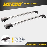 Aluminum Luggage Roof Cross Bar Car Roof Rack With In Meedo Roof Rack