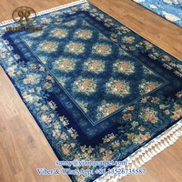 170x245cm top quality turkish design 470kpsi pure mulberry silk on silk handmade cleaning silk rug