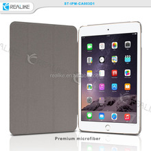 Hot selling for ipad mini 3 stand cover , PU leather smart cover cases for ipad mini 3