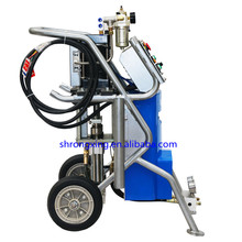Full Pneumatic Polyurethane Spray Machine 25Mpa Max For Exterior Wall Insulation
