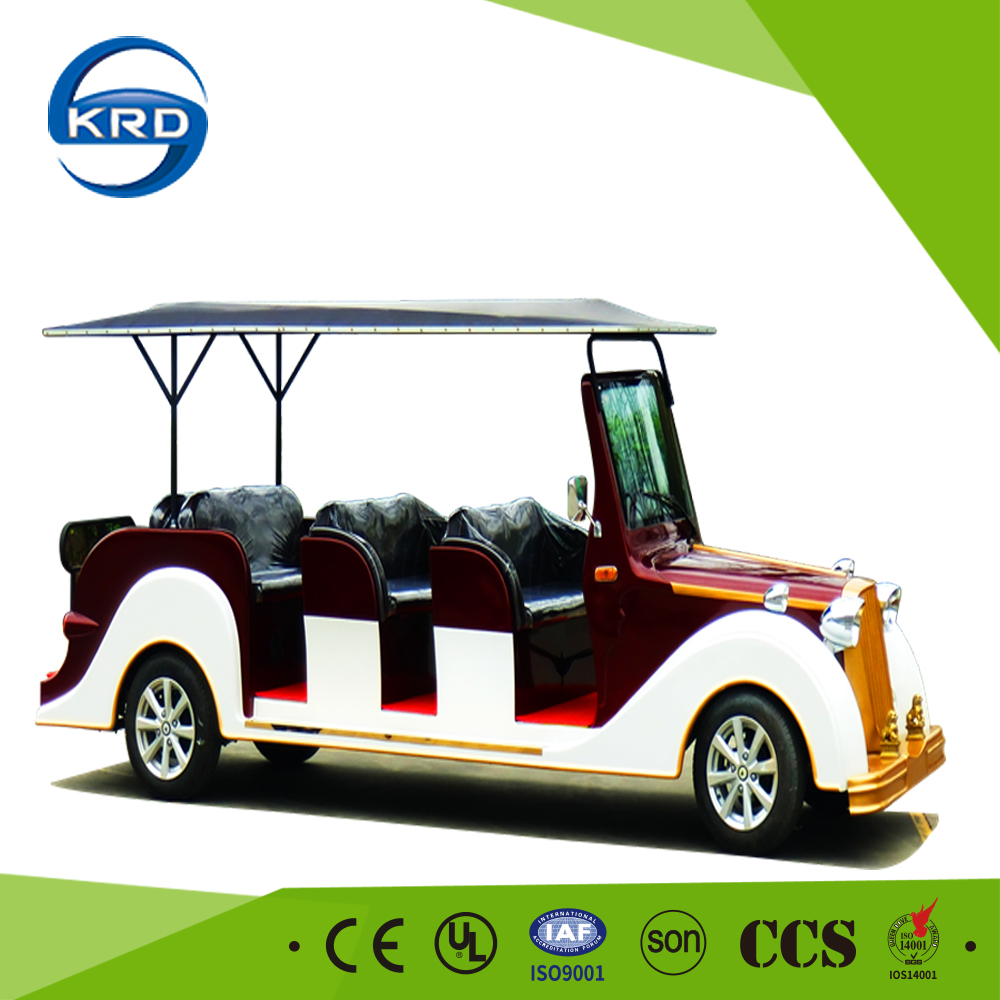 Battery Power Special Design 8 Nominal Passengers Electric Vintage Car With ISO9001 Verified
