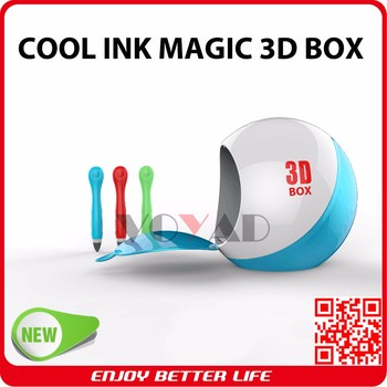 China supplier 3D Printing Pen with No Hot best child X'mas gift for drawing amazing 3d object