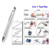 8 in 1 tool pen multifunction Tool Level Pen with screwdriver touch metal tool pen