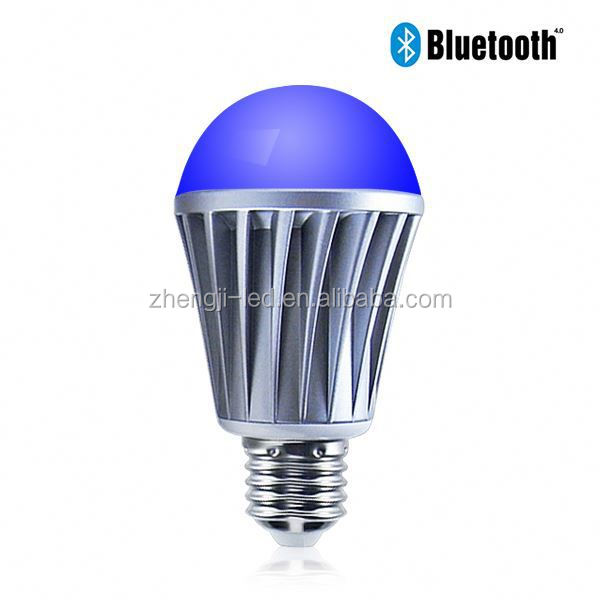 chinese new products Bluetooth a19 led lamp/ 12w e26 led lamp bulb omni/ led bulb lamp with Free APP