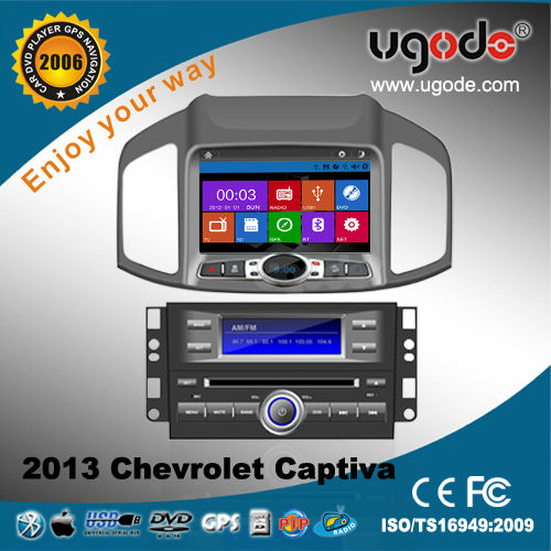 car multimedia for Chevrolet Captiva 2013