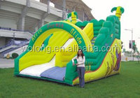 hot selling and factory price Children play inflatable house slide, inflatable slide kids