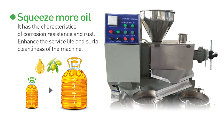 industrial good work ability DL-ZYJ60D Peanut Oil Press Machine mustard oil  extraction expeller machine