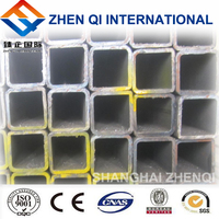 ERW Q345B square steel tube as construction materials