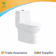 China manufacturers small or large parts one piece syphone toilet