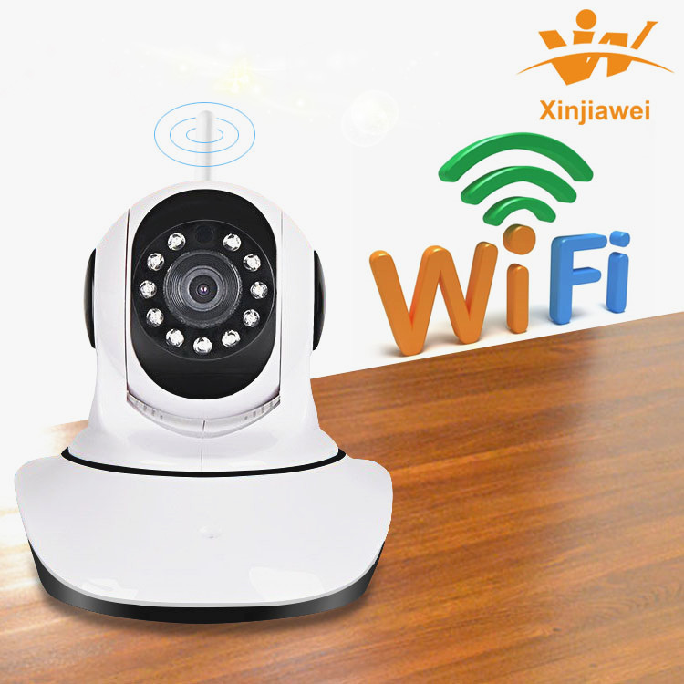 Hot Selling! HD IP Network Infrared Camera w/Motion/Audio Detection