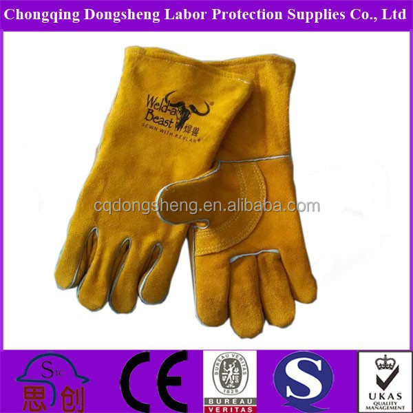 Tig leather work glove welding gloves buyer in west