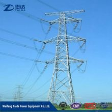 Online Shopping USA 4 Legged galvanized Double circuit 110Kv Transmission Line Steel Tower