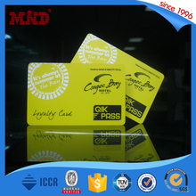 MDP523 nice design PVC Magnetic Stripe Card Credit Card ID Type