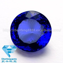 Wholesale price Loose blue synthetic sapphire for weeding rings