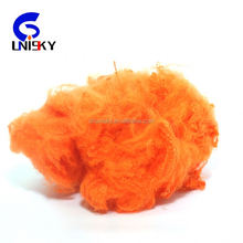 Wholesale recycled polyester staple fiber from pet bottle scrap 1.4d*51mm polyester stuffing wholesale best quality and price