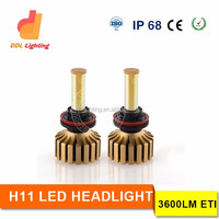 Best Led headlight in the market CREES XHP50 30W chips led car headlight conversion kit, H11 car headlight