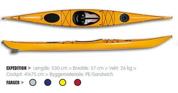 "Sea Kayak ""Hasle Expedition"""