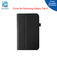 "Slim Leather Cover for SAMSUNG Galaxy Tab 4 Leather Case 7"" 8"" 10.1"""