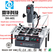 Dinghua bga rework machine mcpcb smd / weller soldering iron repair electronic and xiaomi motherboard etc. DH-A01