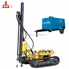 Kaishan LGCY-27/22 diesel engine direct driven 964CFM oil less mobile double stage screw air compressor