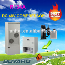 DC 48v solar power air conditioner for solar power split air conditioner Hybird system equipment telecom shelter