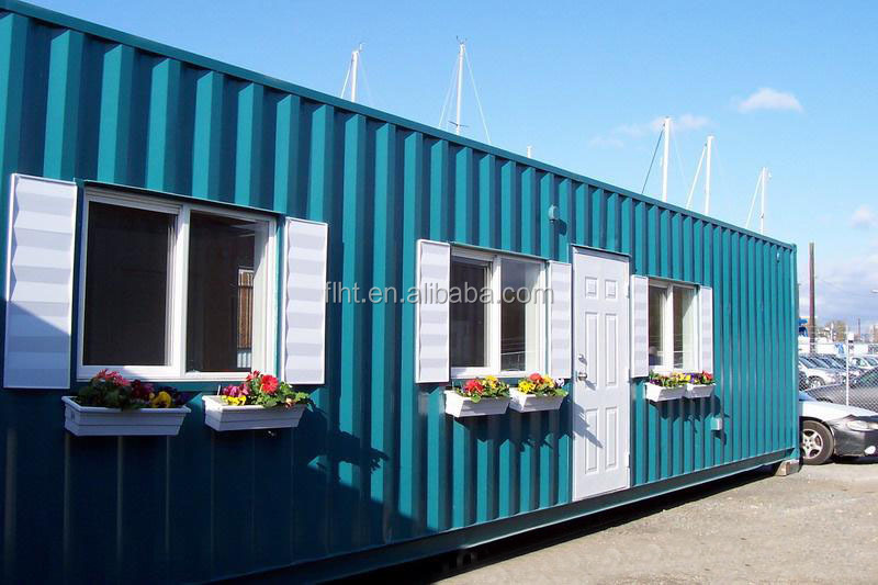 40ft Shipping Container House Fully Furnished For Rent In Germany