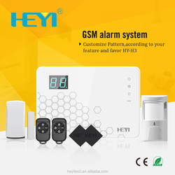 home monitoring system ,intelligent home burglar alarm systems fire alarms