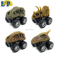 New style of dinosaur toy friction car with dinosaur skull