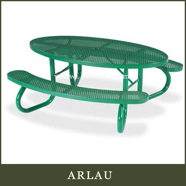 Arlau outdoor furniture octagonal table,table and chairs set,4 person dining table and chair