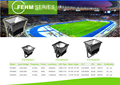 400w 500w 1000w Meanwell driver CE ROHS , Plaza/soccer stadium LED HIGH MAST LIGHT