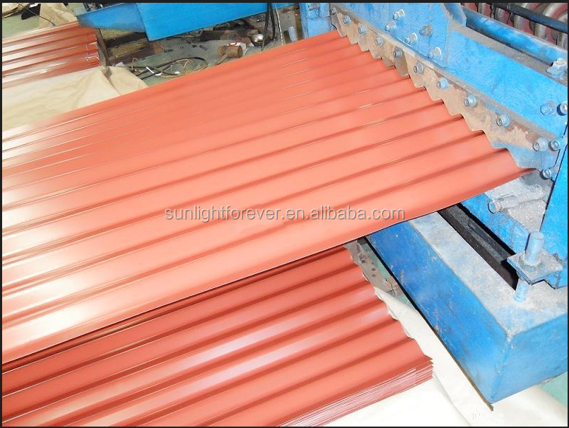 Competitive Price Corrugated Sheet Metal Roofing/Cheap Stone Coated Roofing Sheet