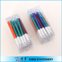PVC box cheapest retractable plastic pen