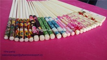 Health and strong reusable art and craft bamboo chopsticks